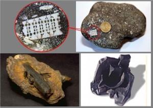 2- Çekiç, kömürde içinde çömlek