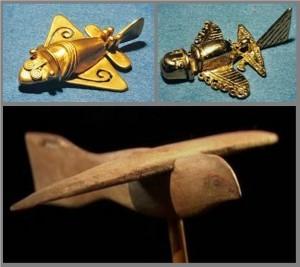 3- Şekil 3 Resimdekilerin uçan araçları gösterdiği düşünülüyor.